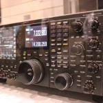 The TS-990s under glass at the 2012 Dayton Hamvention