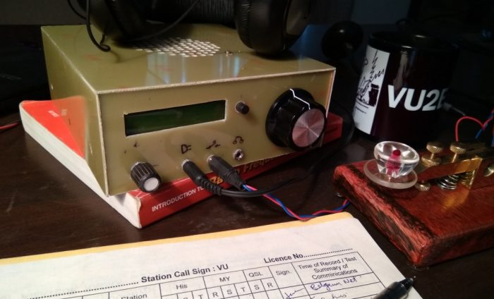 micro BITX a homebrew general coverage SSBCW QRP transceiver