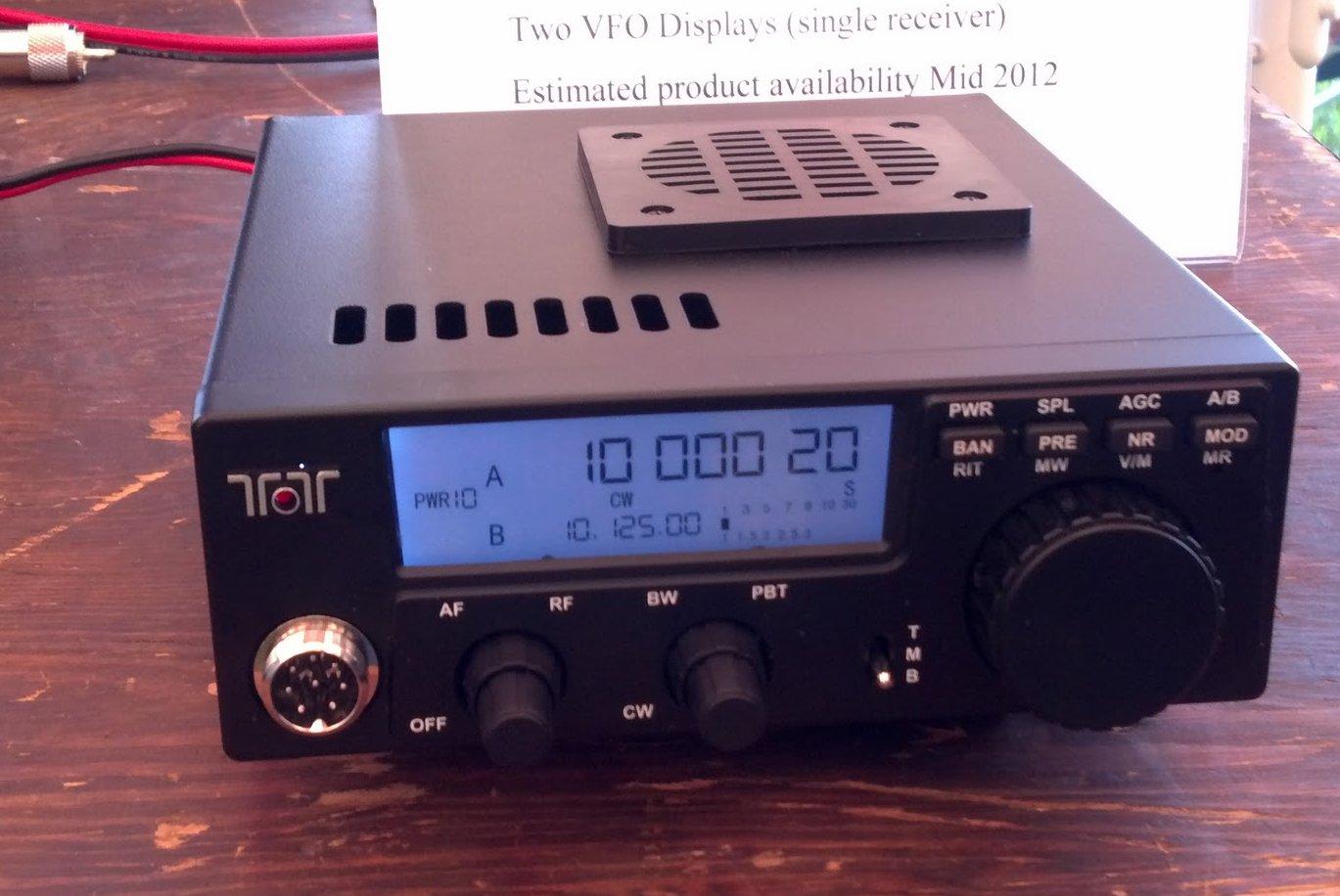 A review of Ten-Tec's Argonaut VI QRP transceiver, Model 539 | Q R P e r