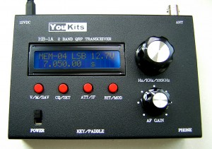YouKits HB1B Four Band QRP Transceiver