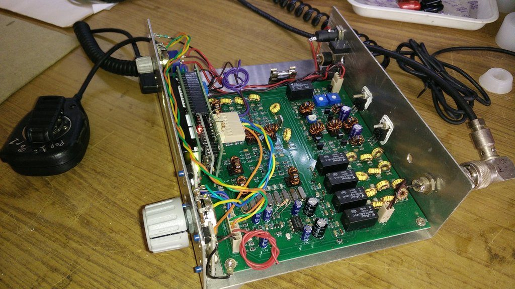 pete reports new developments with the ubitx transceiver