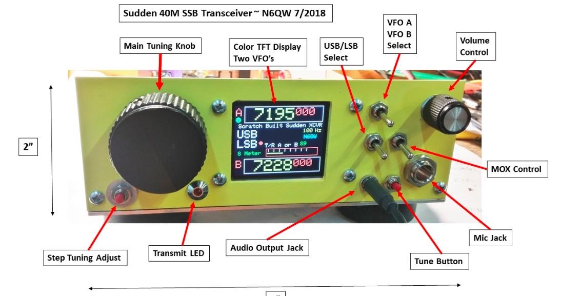 N6QW introduces the Sudden QRP SSB Transceiver | Q R P e r